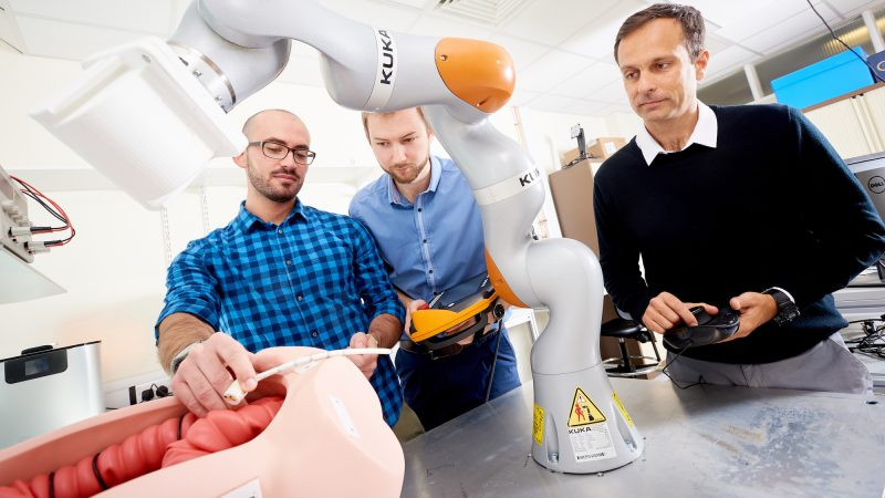 University of Leeds Robotics STORM Lab