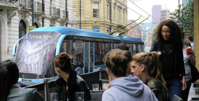 Trolleybus Leeds