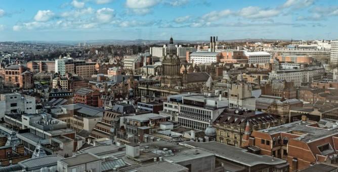 View of Leeds City Centre