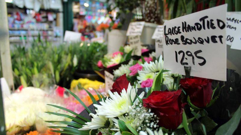 A&C Florists, Leeds Kirkgate Market