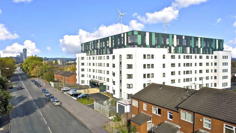 Greenhouse apartments, Leeds