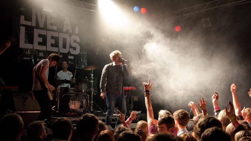 Los Campesinos! gig at Live at Leeds 2012