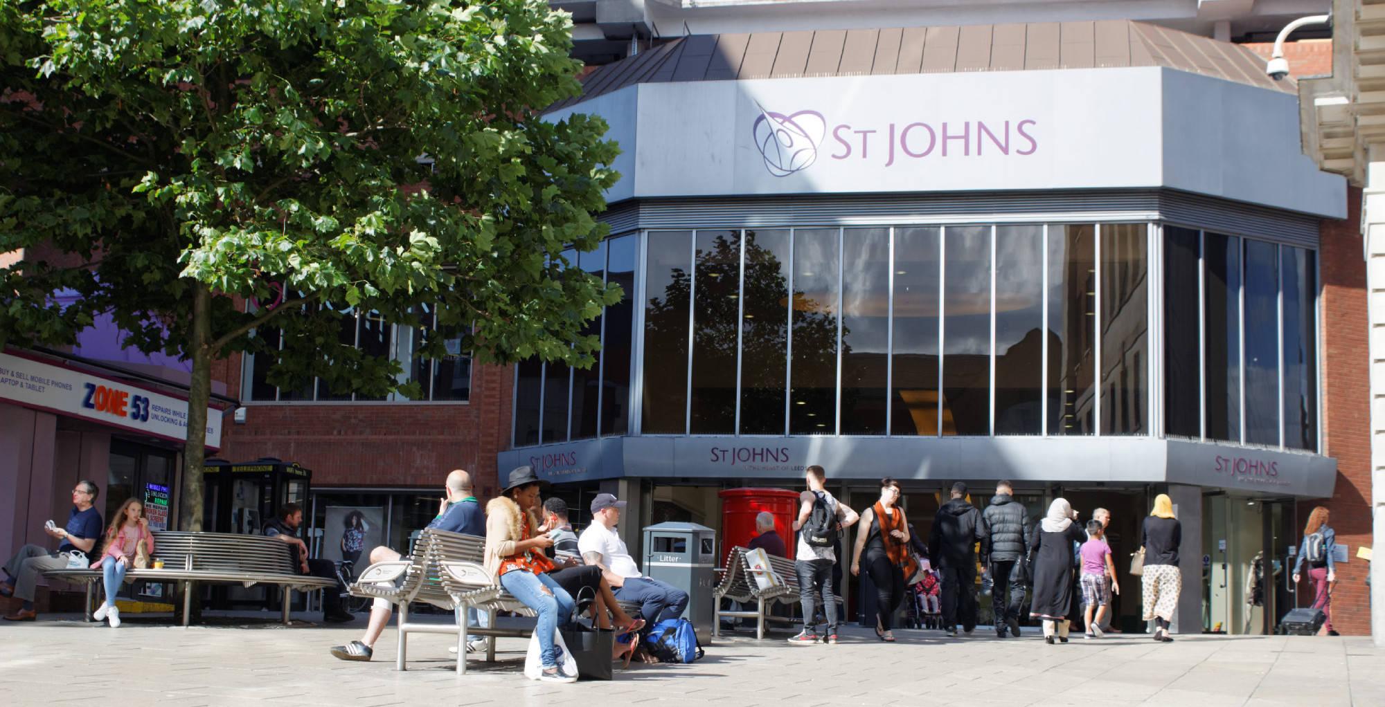 St Johns Shopping Centre Leeds