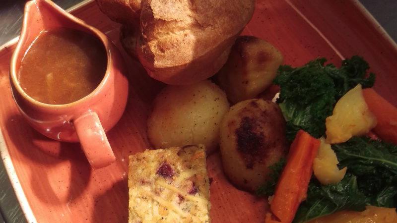 Veggie Sunday Roast, The Adelphi,
