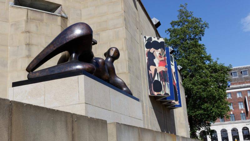 Reclining Woman, Henry Moore, Leeds Art Gallery, Victoria Gardens