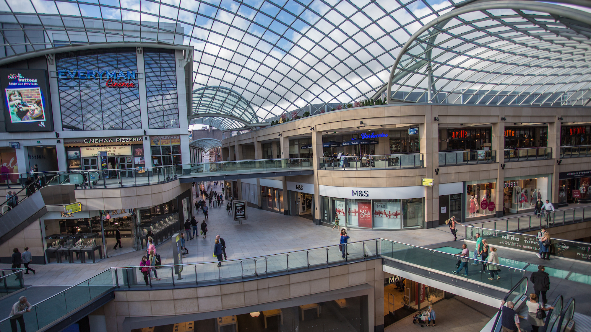 Shopping Centres in Leeds | Leeds-List