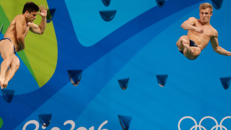 Jack Laugher and Chris Mears, 2016 Rio Olympic Games