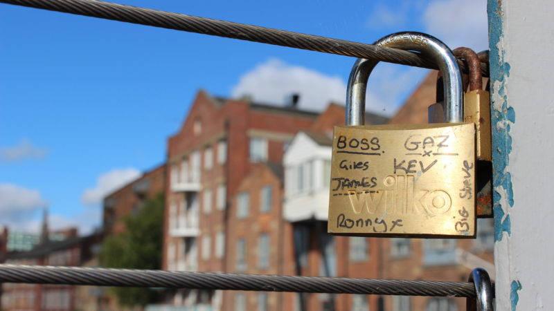 Leeds Love Locks