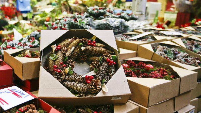 Leeds Kirkgate Market Christmas