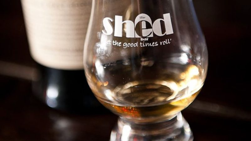 Shed Bar, whiskey