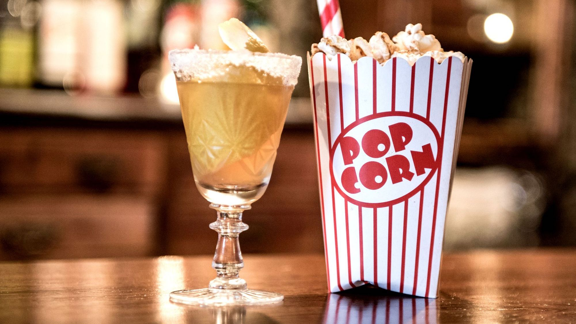 Blind Tyger, popcorn mai Thai