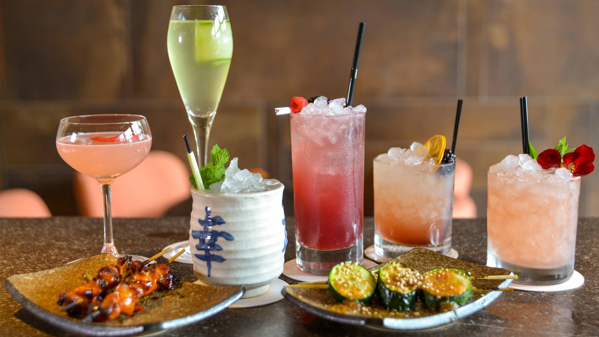 Cocktails Issho Kori Bar