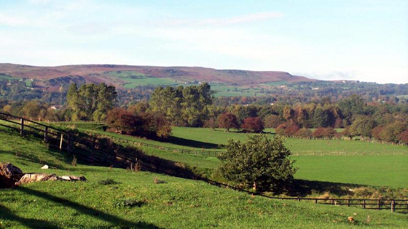 From Otley towards Ilkley