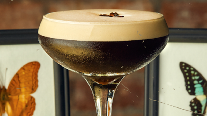 Espresso martini at The Brotherhood of Pursuits and Pastimes