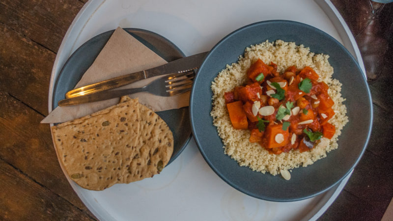 Vegetable Tagine at Stage Coffee
