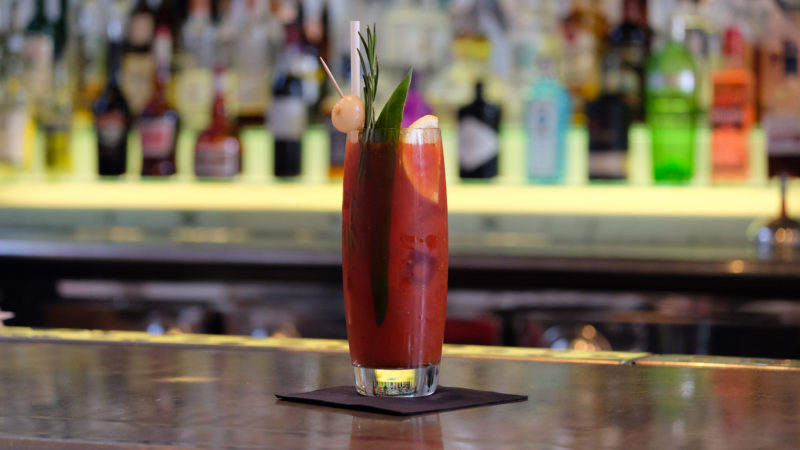 Bloody Mary at Restaurant Bar and Grill