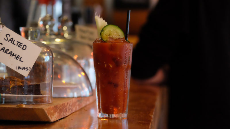 Bloody Mary at Outlaws Yacht Club