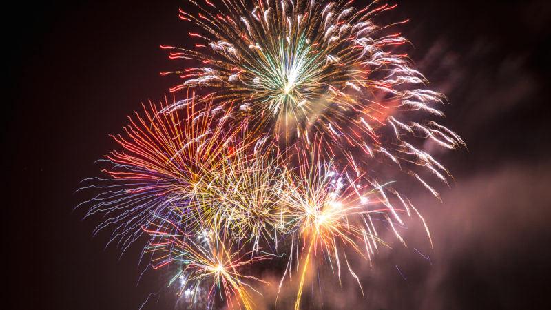 Bonfire Night, fireworks