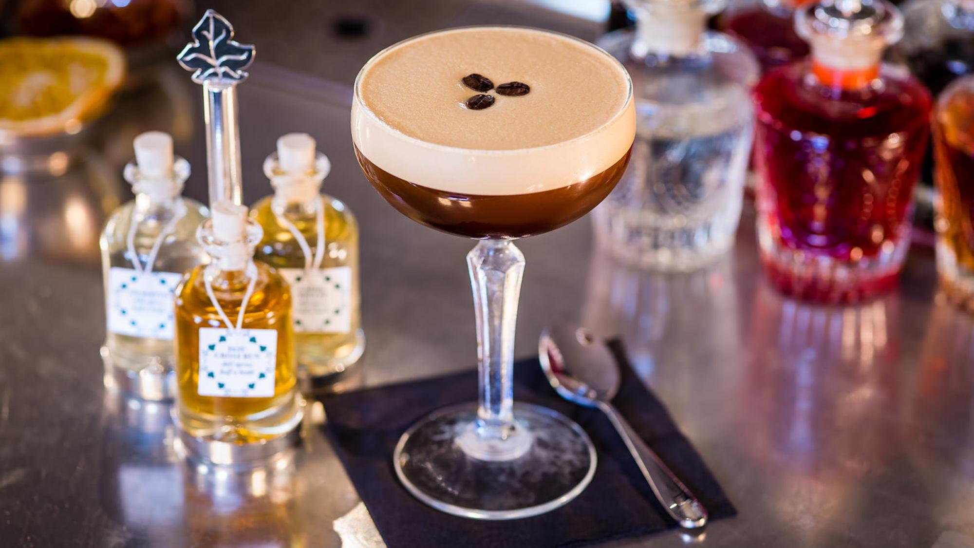 Salted Caramel Espresso Martini, The Ivy