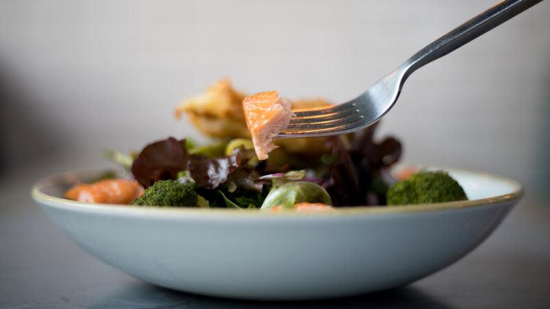Salmon salad, The Good Luck Club