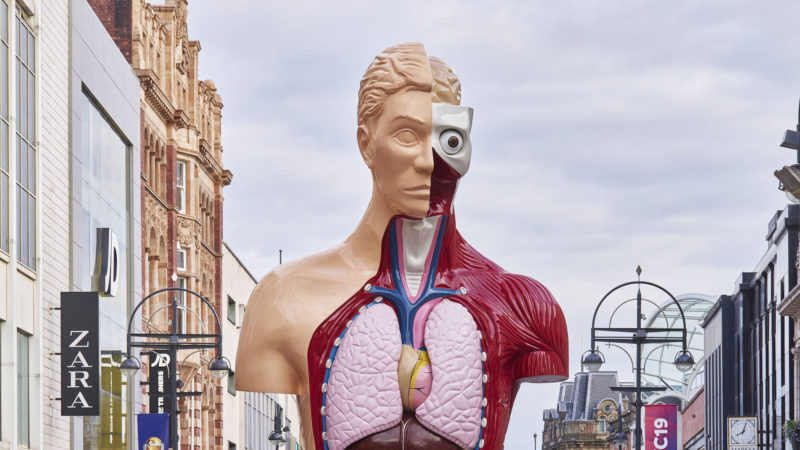 Damien Hirst, Yorkshire Sculpture Festival
