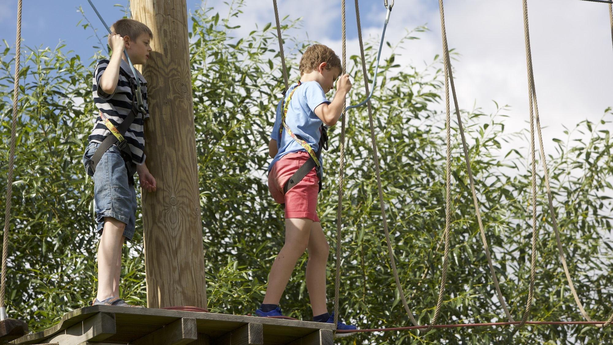 Web Adventure Park High Ropes