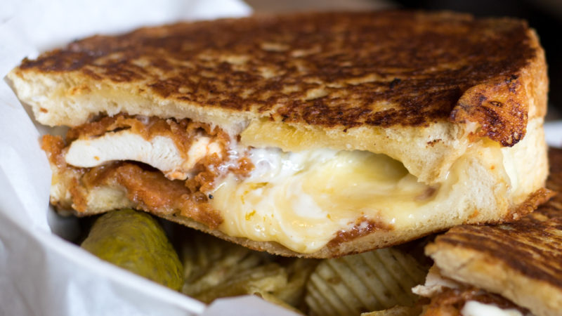 Alley Cats Cheese Toastie