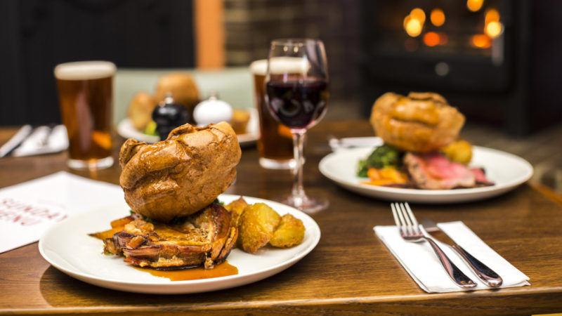 The Beck & Call, Sunday lunch roast dinner