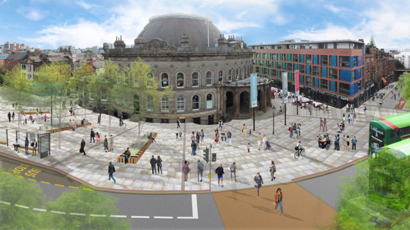 Leeds Corn Exchange Plans