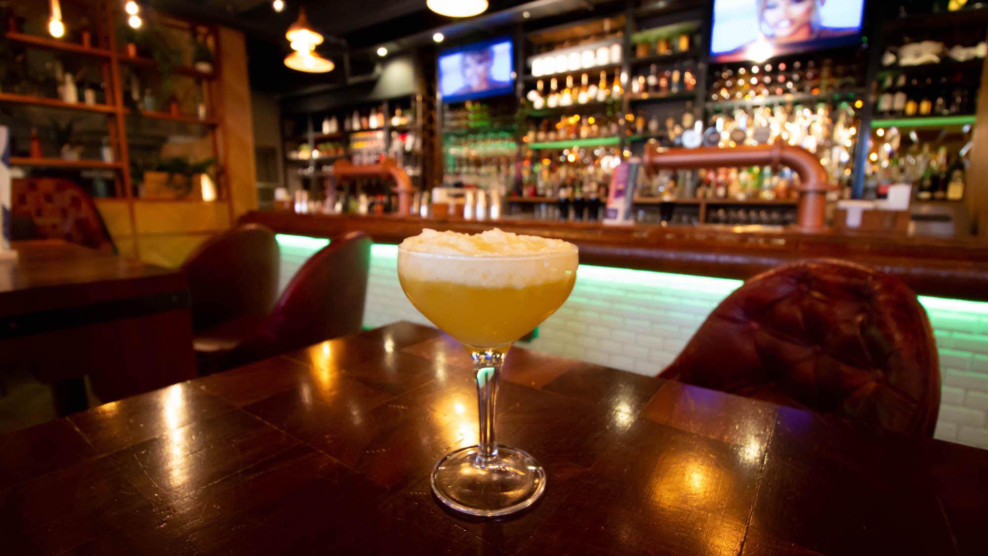 cocktail at banyan