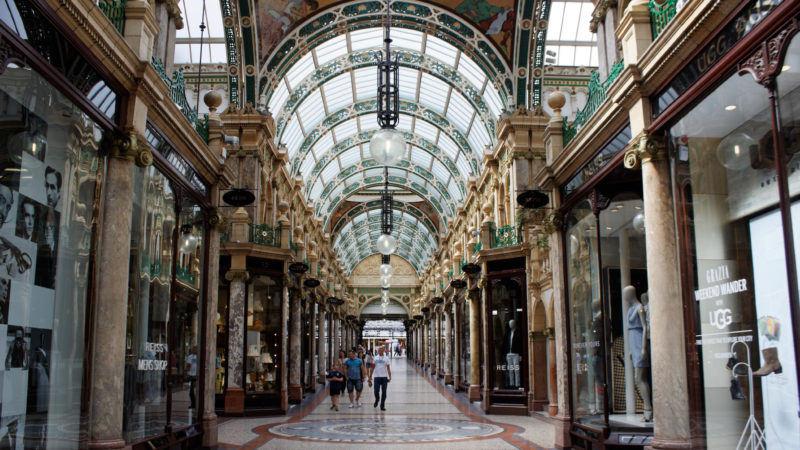 Victoria Quarter Shopping Arcade