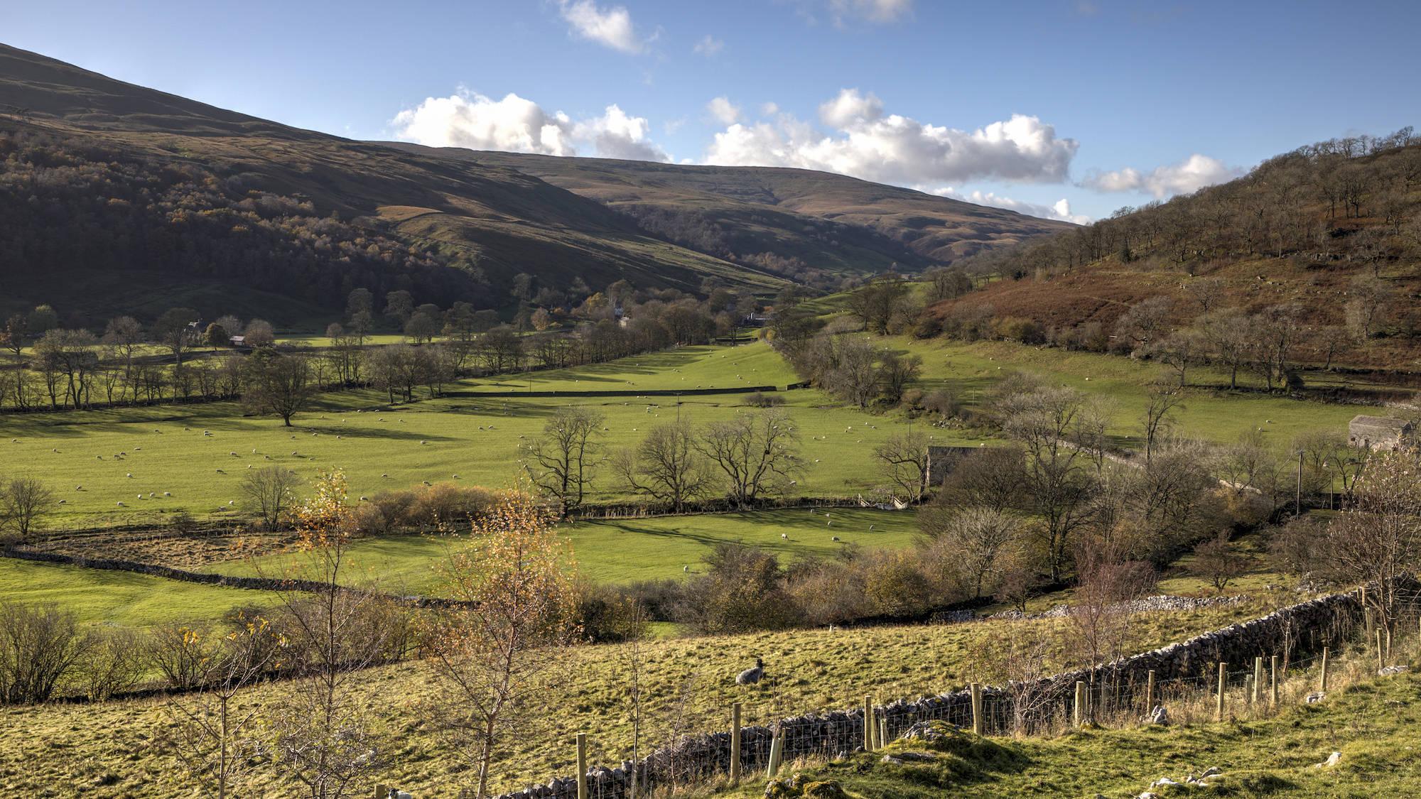 Langstrothdale and Hubberholme, Wharfedale, Birk's Fell