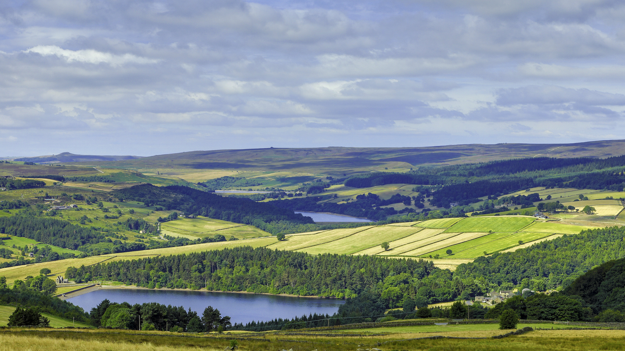 Agden, Dale Dike and Strines reservoirs, Bradfield, Yorkshire