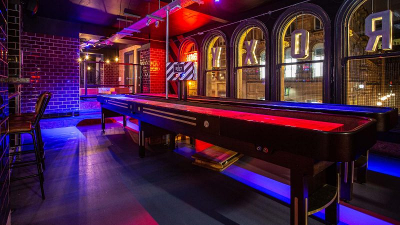 Shuffleboard, Roxy Ball Room