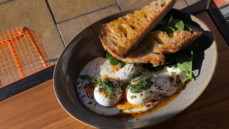 Laynes Espresso Turkish Eggs