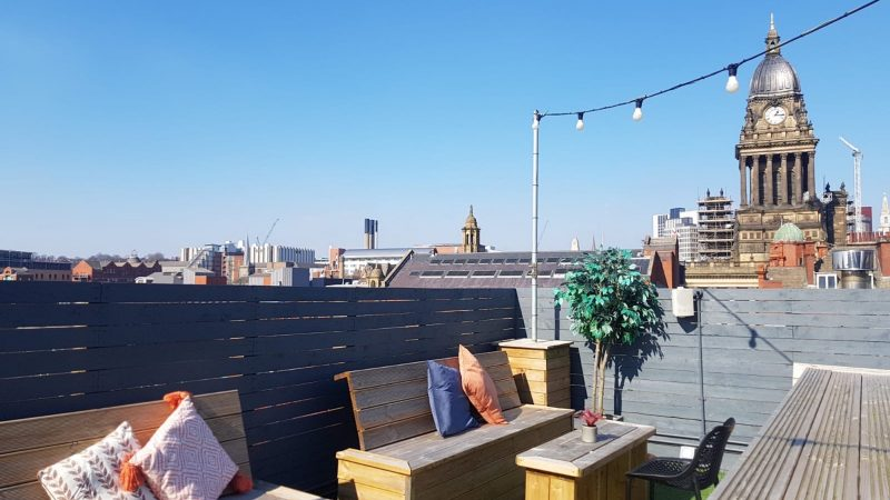 East Parade Social roof terrace