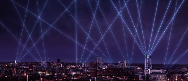 The City's Skyline Will Be Lit Up By a Spectacular Laser Show As Light Night Presents a Season of Unmissable Events
