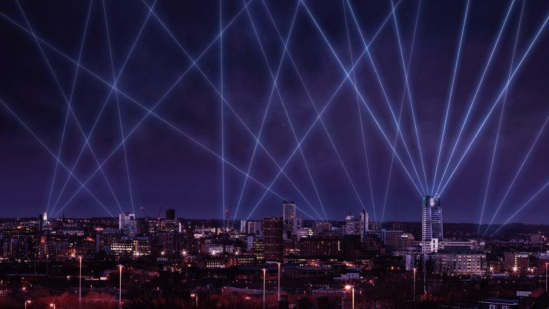 Laser Light City