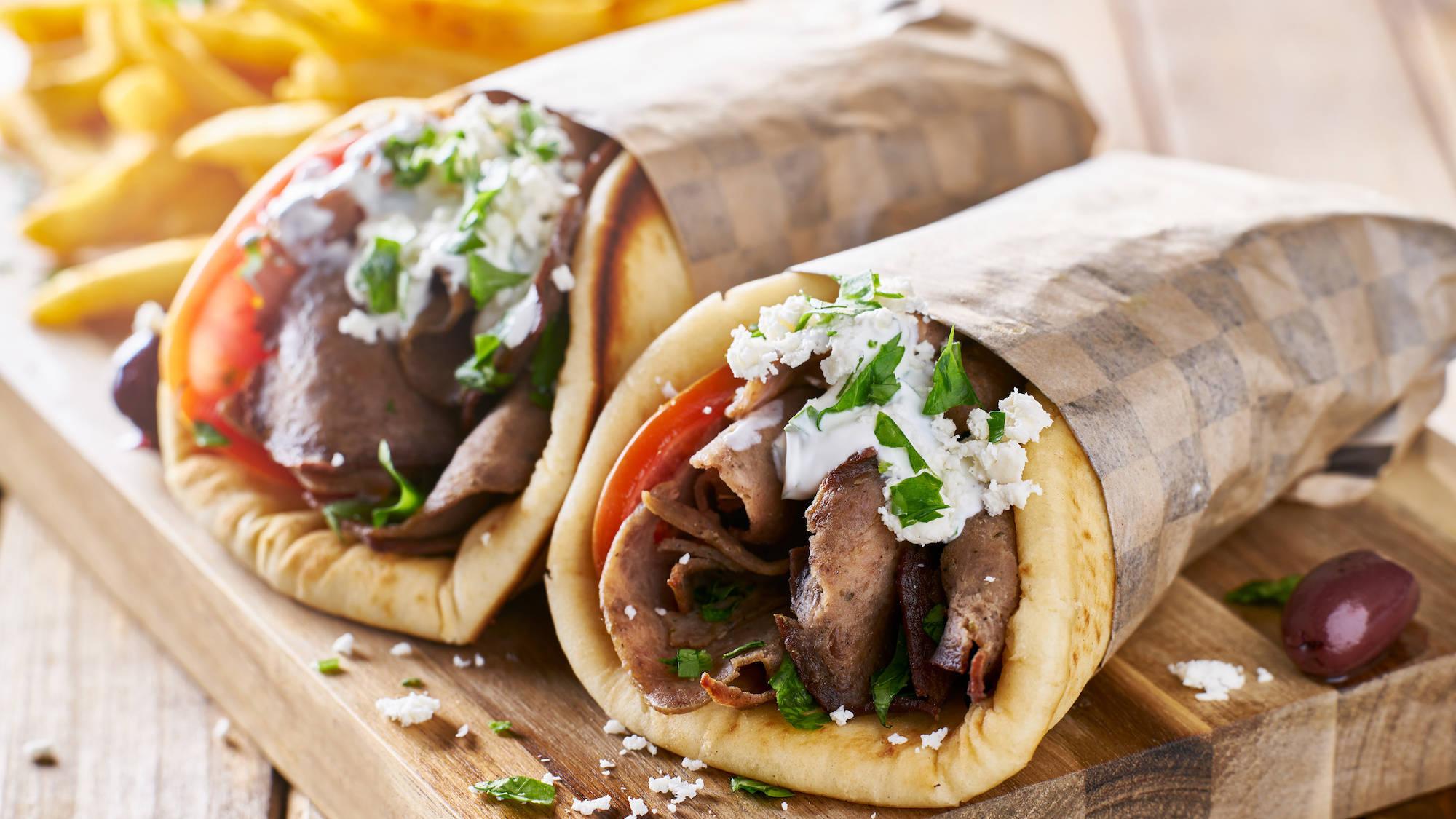 Greek Gyros Lamb Kebab
