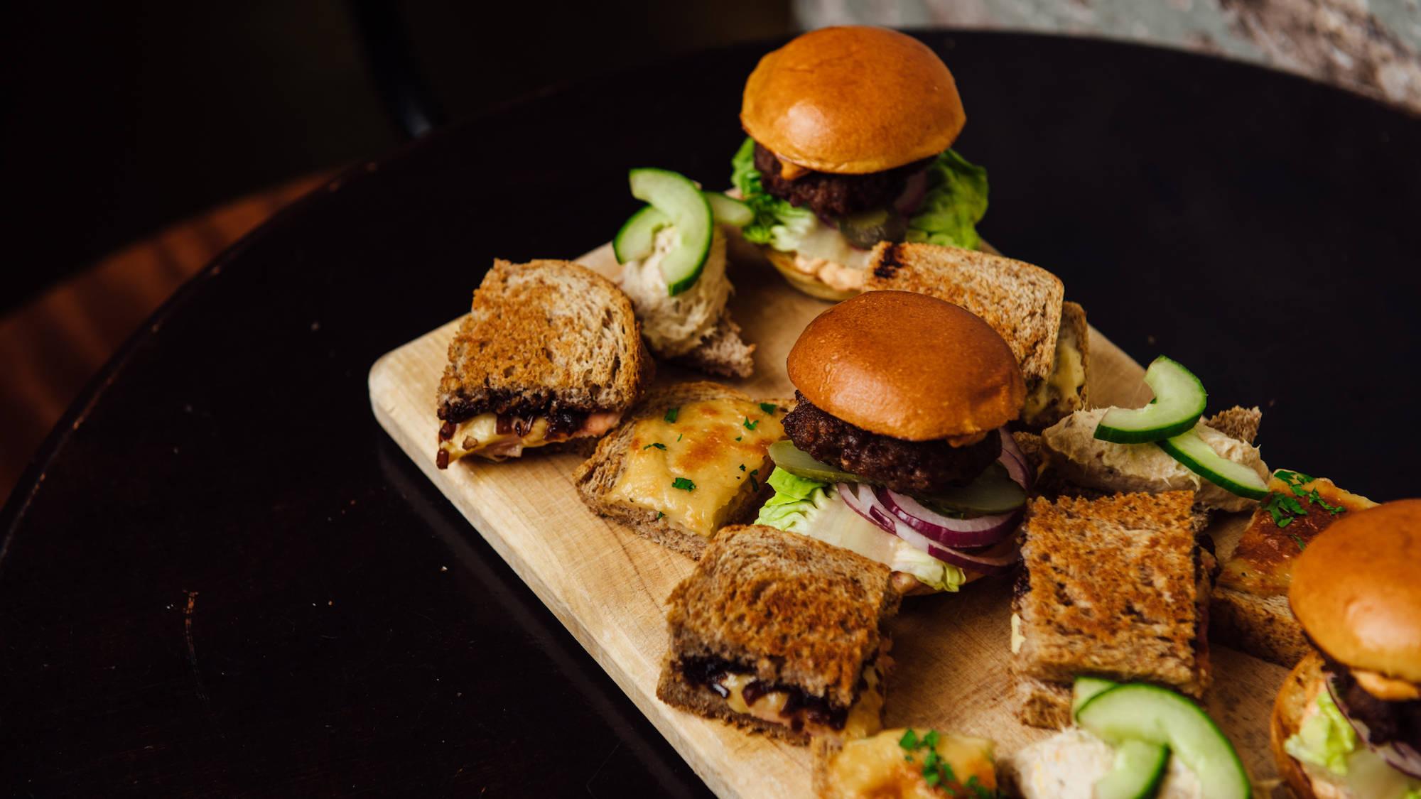 Tetley Bar and Kitchen Food