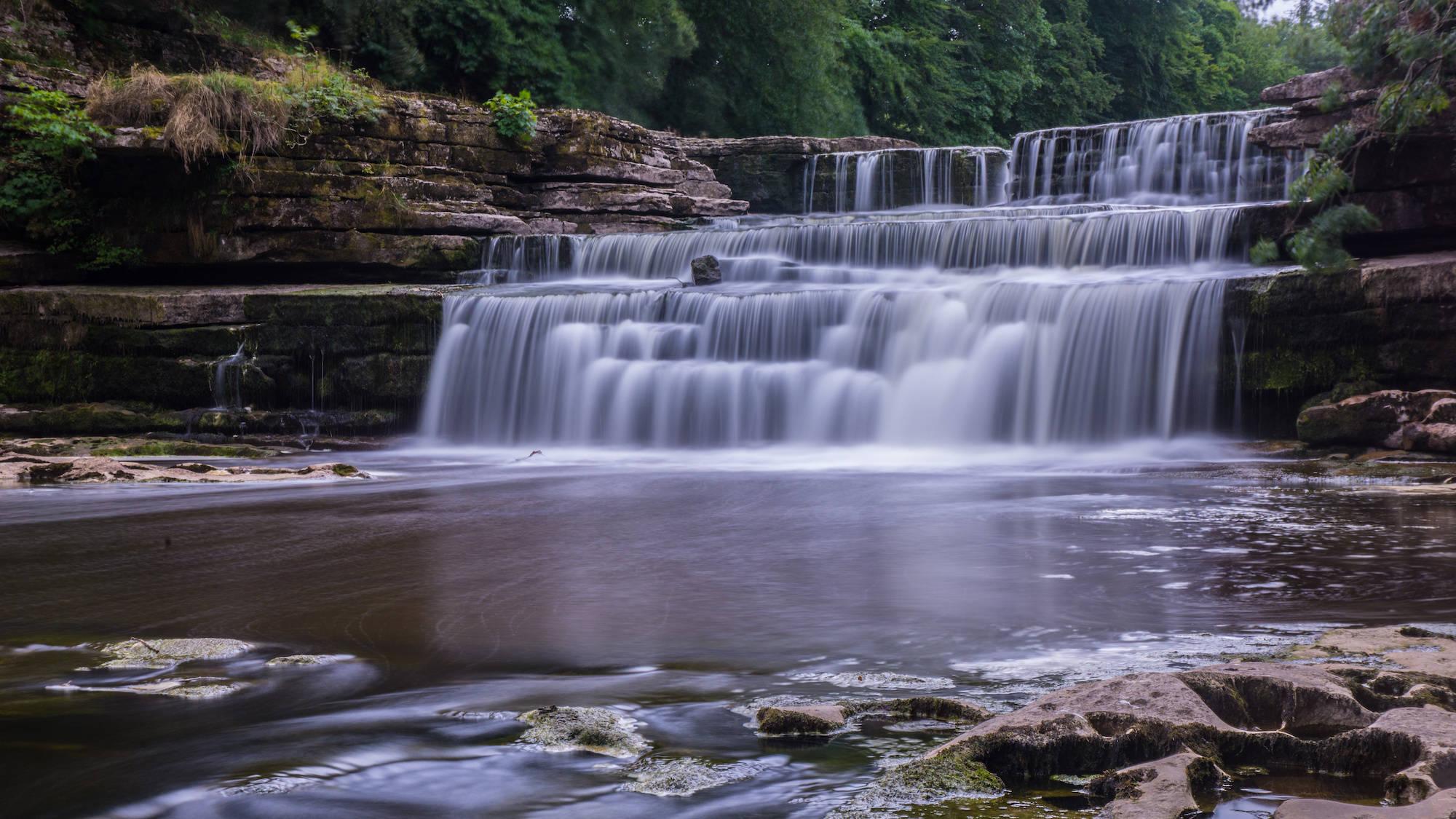 Aysgarth Falls, waterfall
