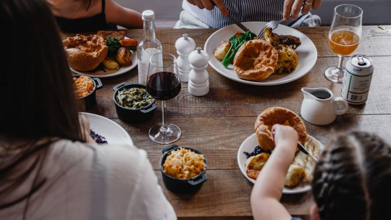 A family lunch at The Botanist