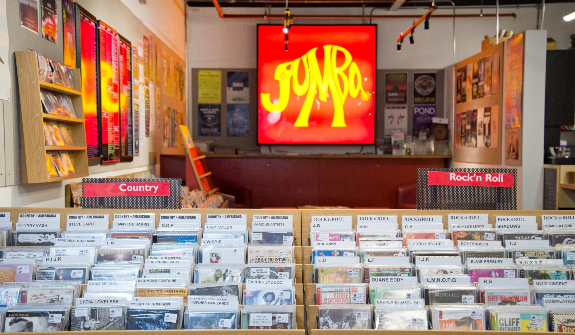 Jumbo Records in Merrion Centre