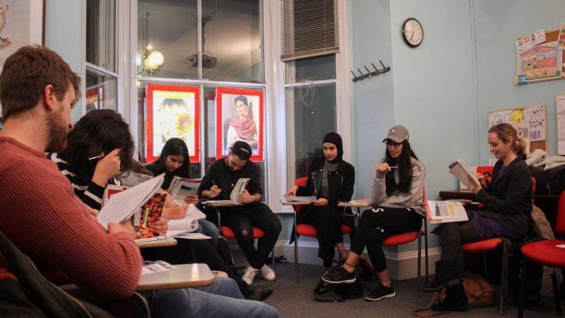 Instituto Cervantes Spanish class