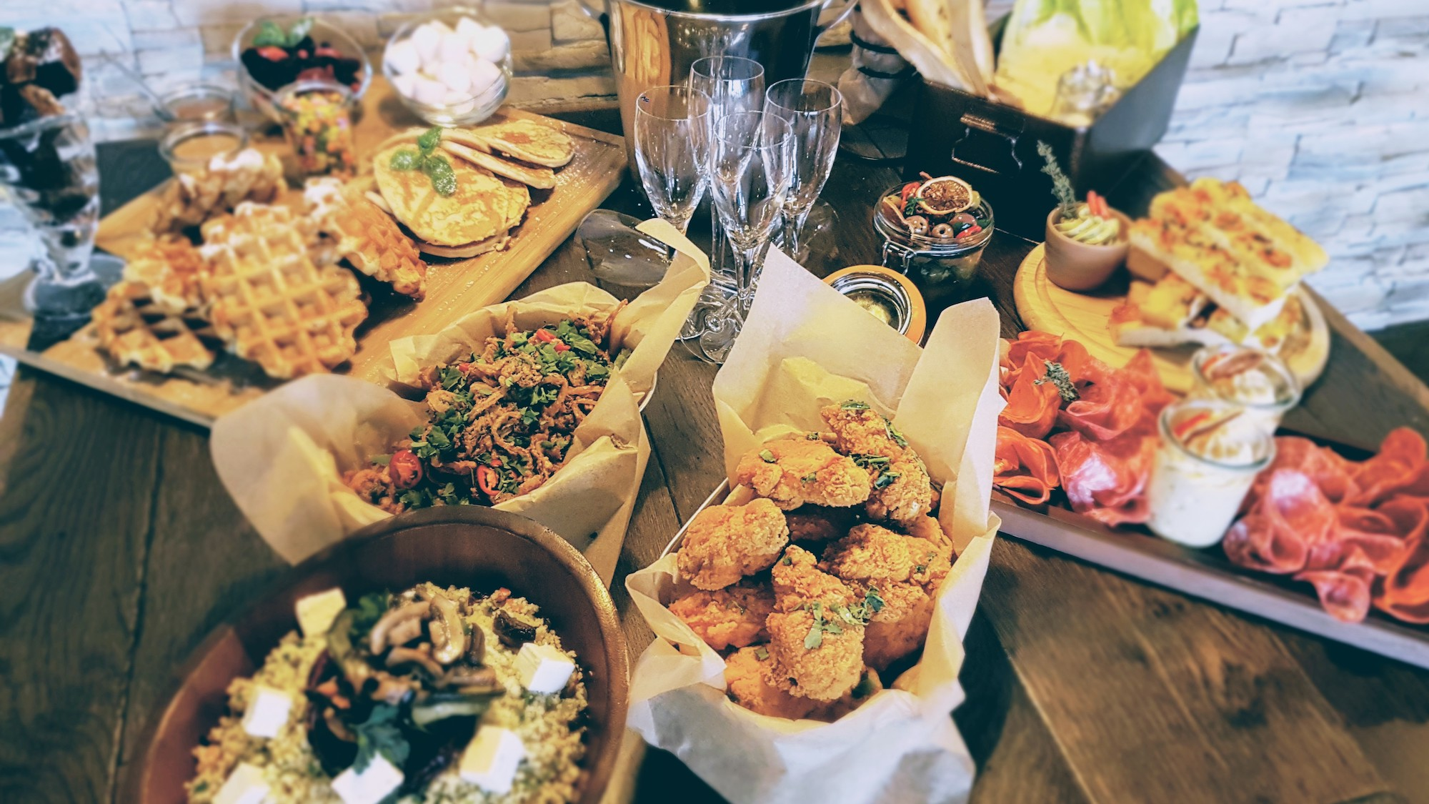 The Soap Factory, bottomless brunch