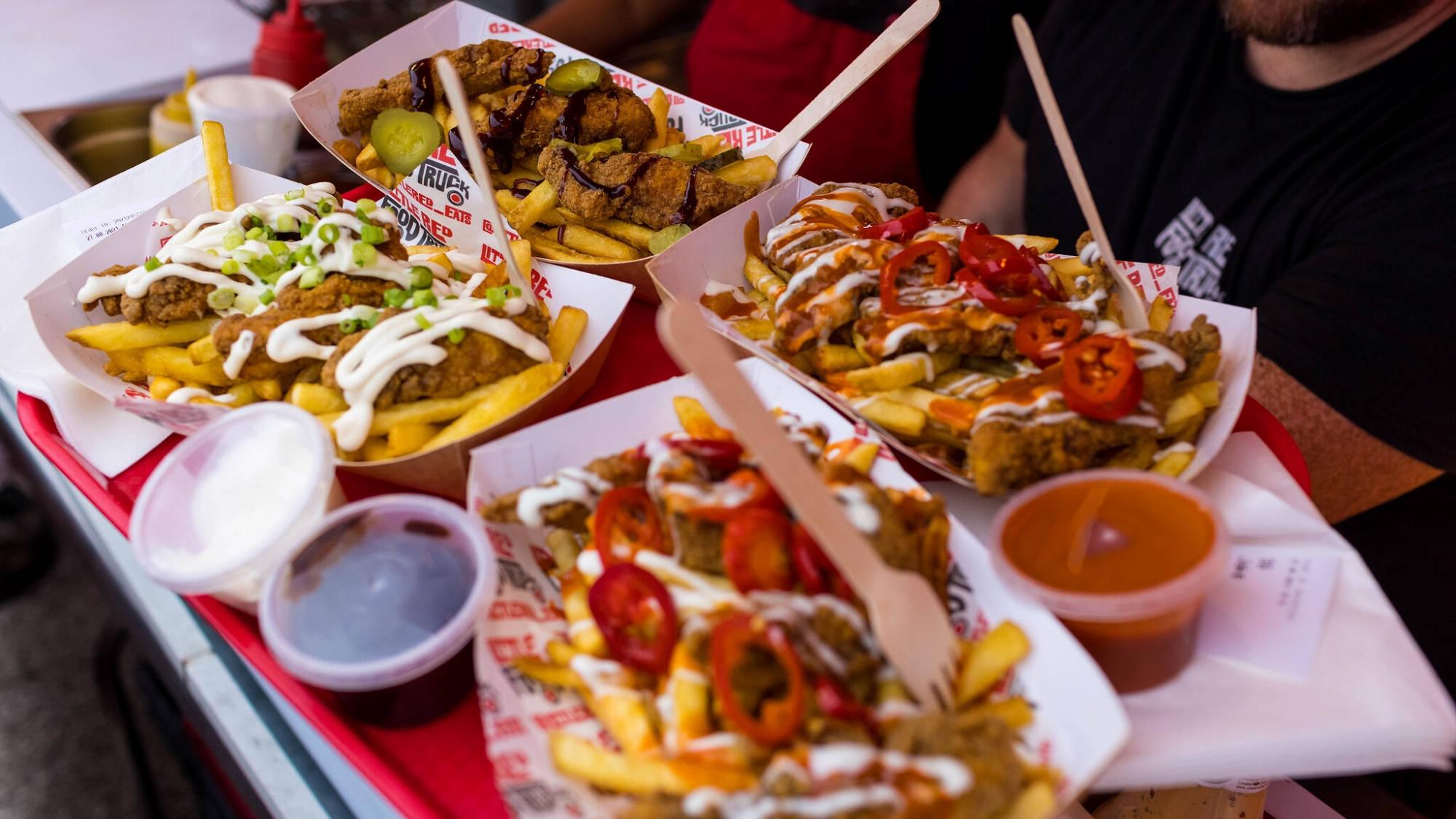Food at Chow Down 20211