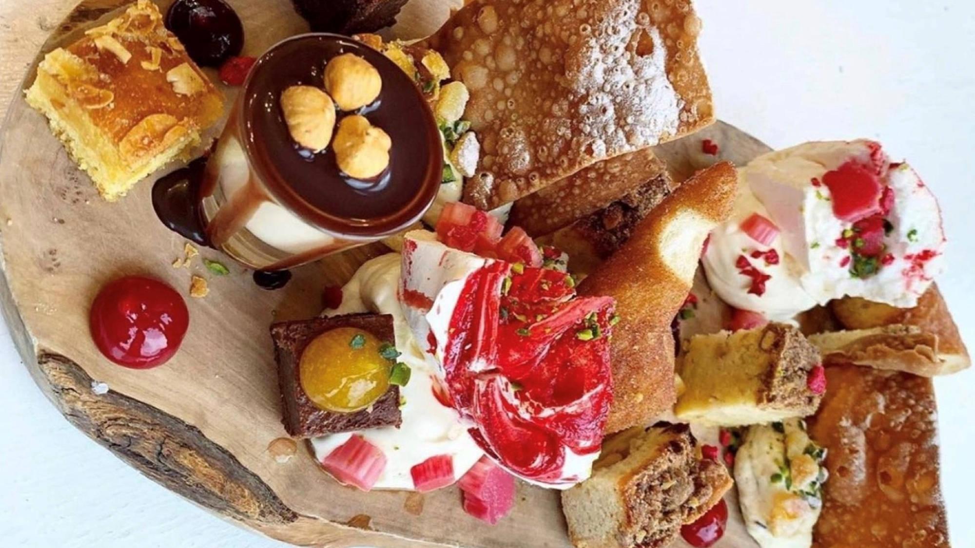 dessert platter stuzzi